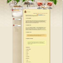 EZ Cafe Blogger Template