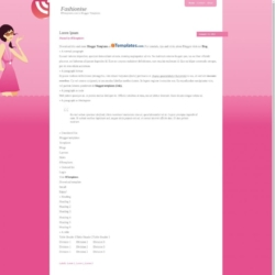 Fashionise Blogger Template
