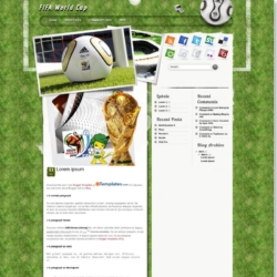 FIFA World Cup Blogger Template