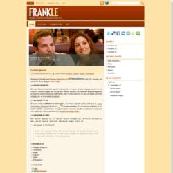 Frankle Blogger Template