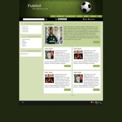 Futebol Blogger Template