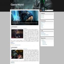 GameWorld Blogger Template