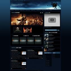 GameZine Blogger Template