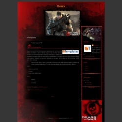 Gears Blogger Template