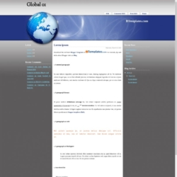 Global 01 Blogger Template