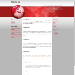 Global 02 Blogger Template