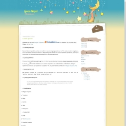 Good Night Blogger Template