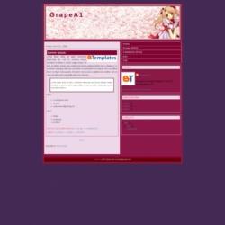 Grape A1 Blogger Template
