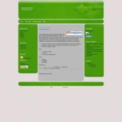 Green Gloss Blogger Template