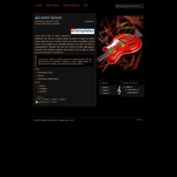 Guitarra Blogger Template