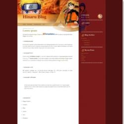 Hinaru Blog Blogger Template