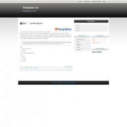 Ice Blogger Template
