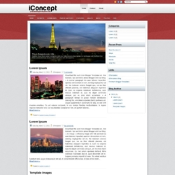 iConcept Blogger Template