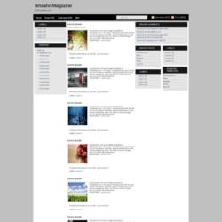 Ikhsan Magazine Blogger Template