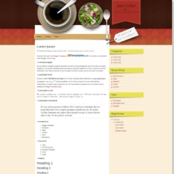 Join Coffee Blogger Template