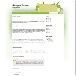 Joogoo Green Blogger Template