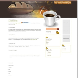 Kaffee Blogger Template