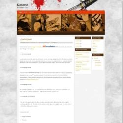 Katana Blogger Template