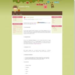 Kiddie Blog Blogger Template