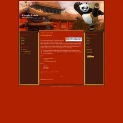 Kungfu Panda Blogger Template