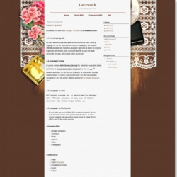 Lacework Blogger Template