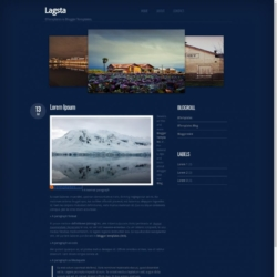 Lagsta Blogger Template