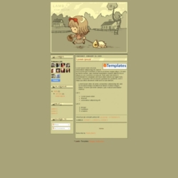Lamb Blogger Template