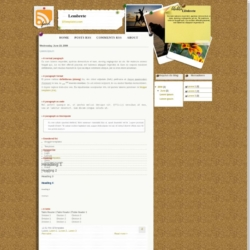 Lembrete Blogger Template