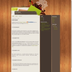 Let Curve Blogger Template