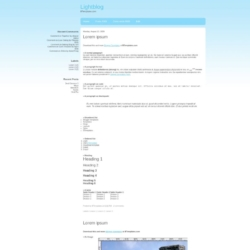 Lightblog Blogger Template