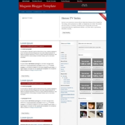Magasin Tres Blogger Template