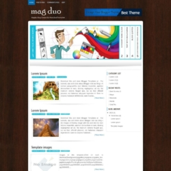 Magduo Blogger Template