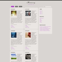 Mansory Blogger Template