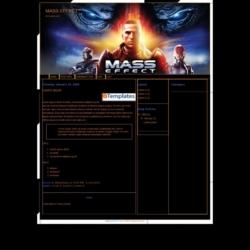 Mass Effect Blogger Template