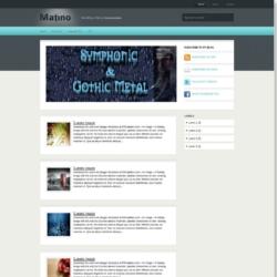 Matino Blogger Template