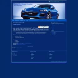 Mazda RX-8 Blogger Template