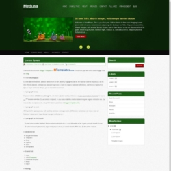 Medusa Blogger Template