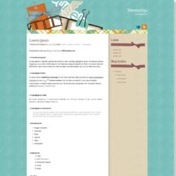 Memoriqu Blogger Template