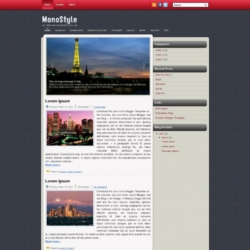 MonoStyle Blogger Template