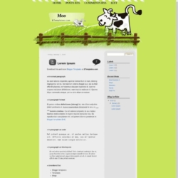 Moo Blogger Template