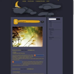 Moon Blogger Template