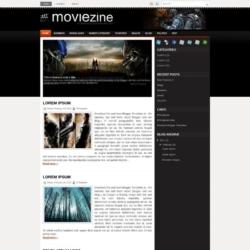 MovieZine Blogger Template