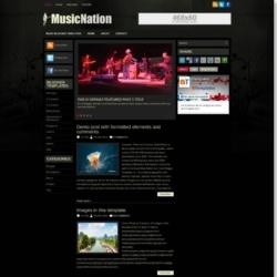 MusicNation Blogger Template