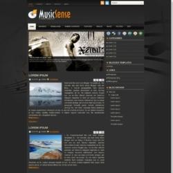 MusicSense Blogger Template