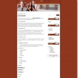My Business Blogger Template