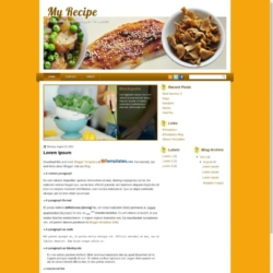My Recipe Blogger Template