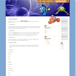 Nemo Blogger Template