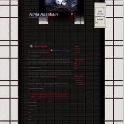 Ninja Assassin Blogger Template