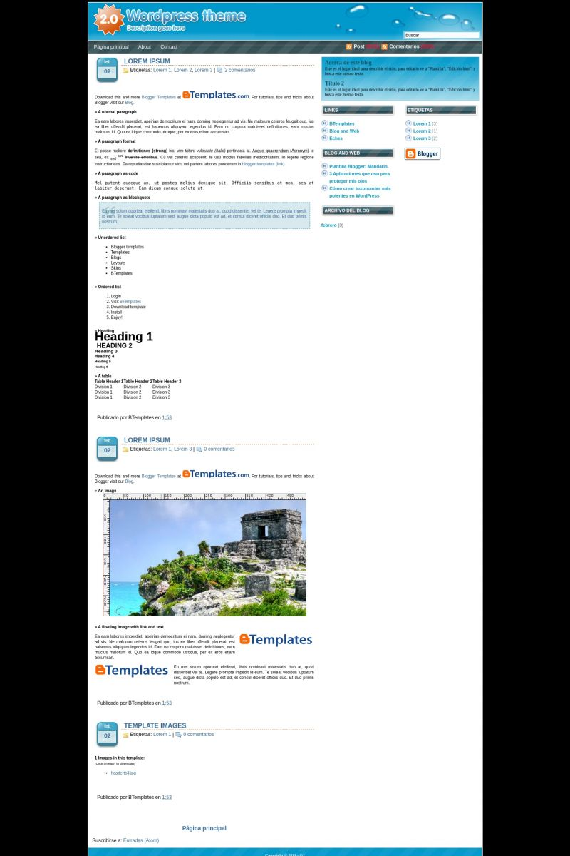 Download O2 Blogger Template