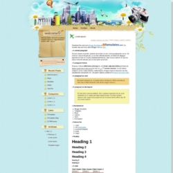 Oh Travel Blogger Template